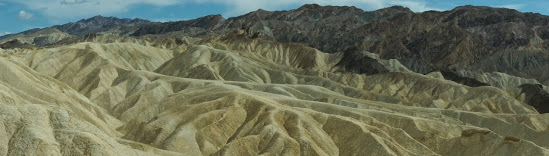 At Zabriskie Point looking back 5 million years