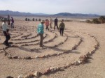 Tecopa Hot Springs Labyrinth