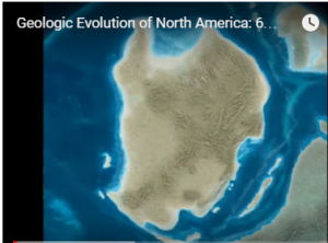 Geology Animation NA 600 mya